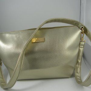 Metallic Gold Shoulder Bag